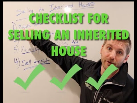 How to sell Inherited House in Georgia