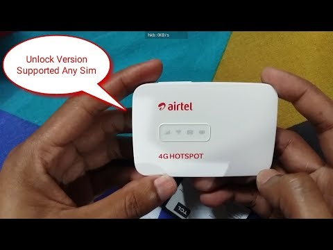 Airtel MW40CJ 4G Hotspot | Unlock Version...