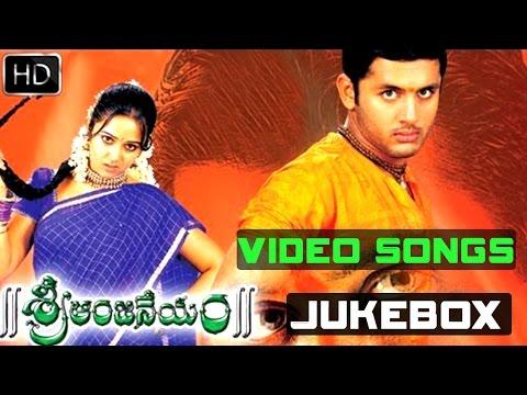 Sri Anjaneyam Full Video Songs    Jukebox    Nitin, Charmi