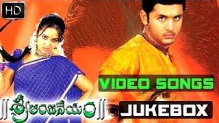 Sri Anjaneyam Full Video Songs || Jukebox || Nitin, Charmi