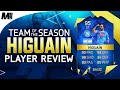 FIFA 16 TOTS HIGUAIN REVIEW  95  FIFA 16 Ultimate Team Player Review   In Game Stats