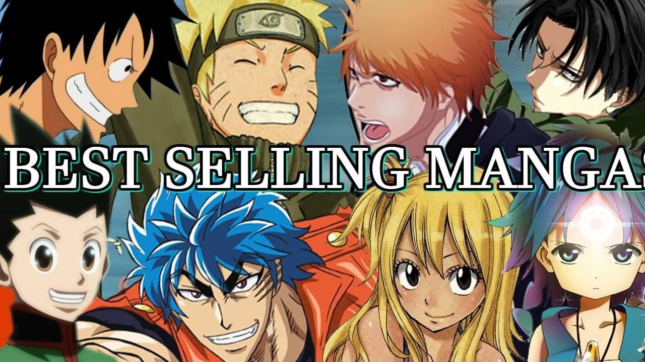 The best selling manga of 2016