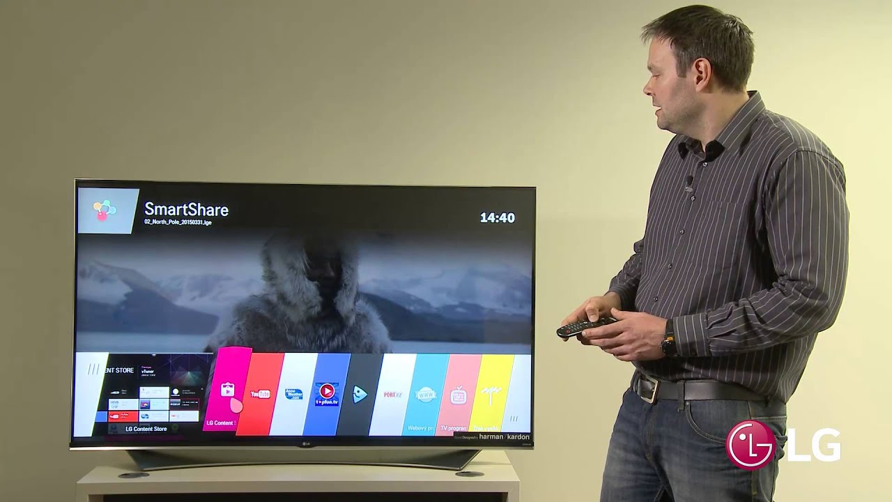 LG 32LH570B 32 Inch Smart TV Setup Review - YouTube