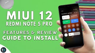 MIUI 12 FIRST LOOK |  Redmi Note 5 Pro MIUI 12 Update | Install Now