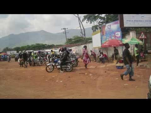 Drive to Kono Sierra Leone