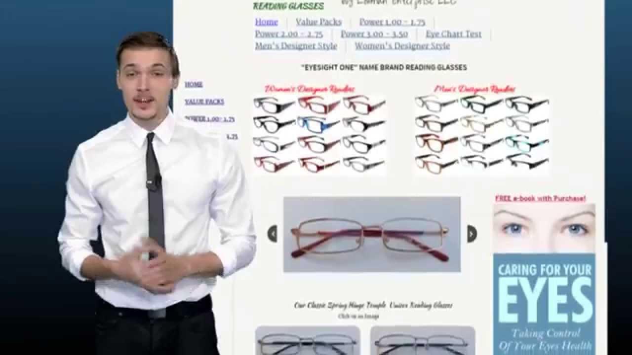 How to pick reading glasses we sell eyeglasses and designer for how to pick reading glasses we sell eyeglasses and designer for women and men chart test vision youtube nvjuhfo Gallery