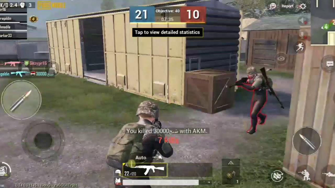 Getting 15 kills in a warehouse game !!