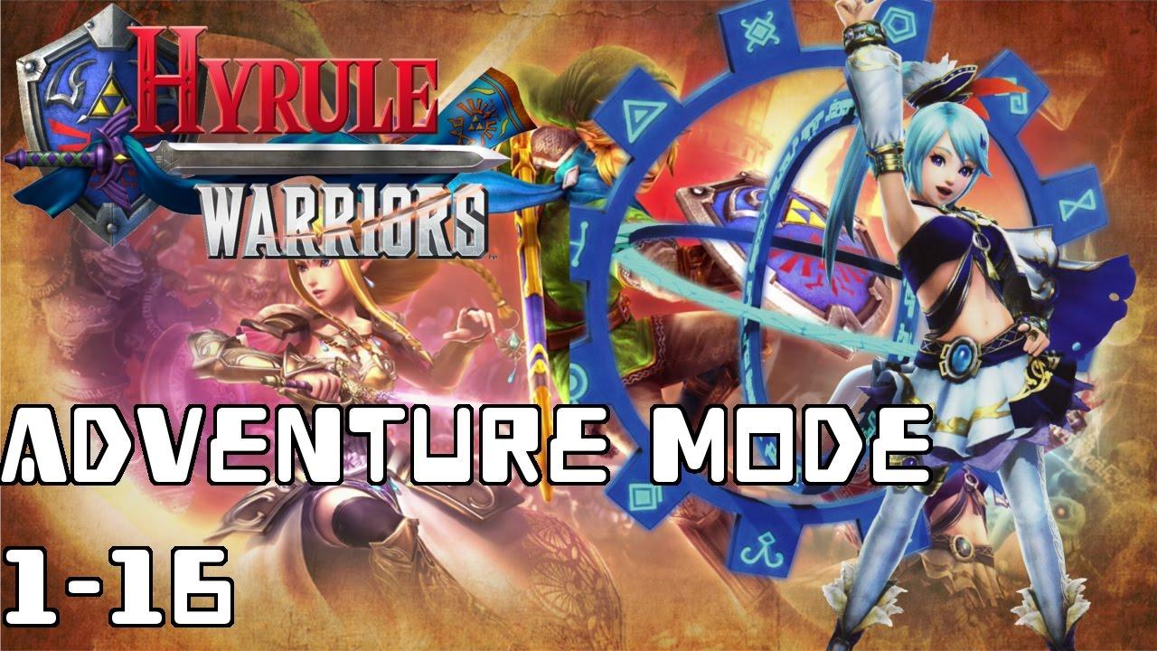 hyrule warriors definitive edition guide adventure mode