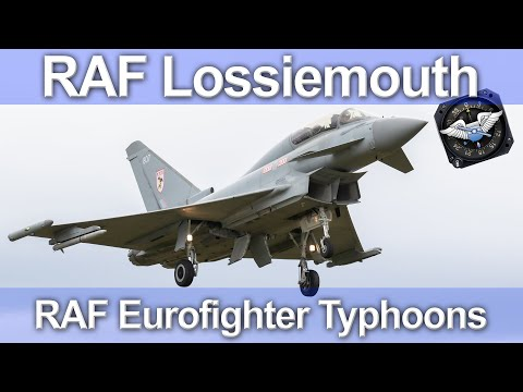RAF Lossiemouth - Eurofighter Typhoons