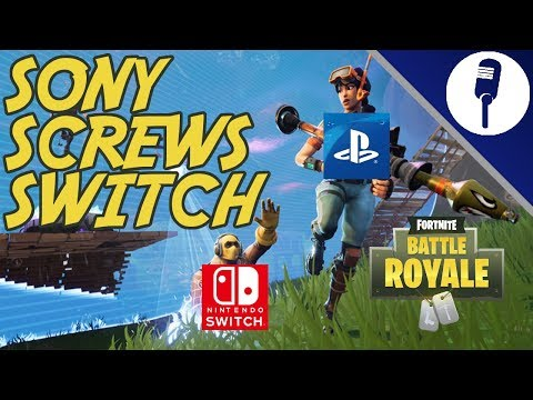 Sony Screws Switch: Epic Games Accounts From Playstation Can't Play Fortnite On Nintendo Switch!!