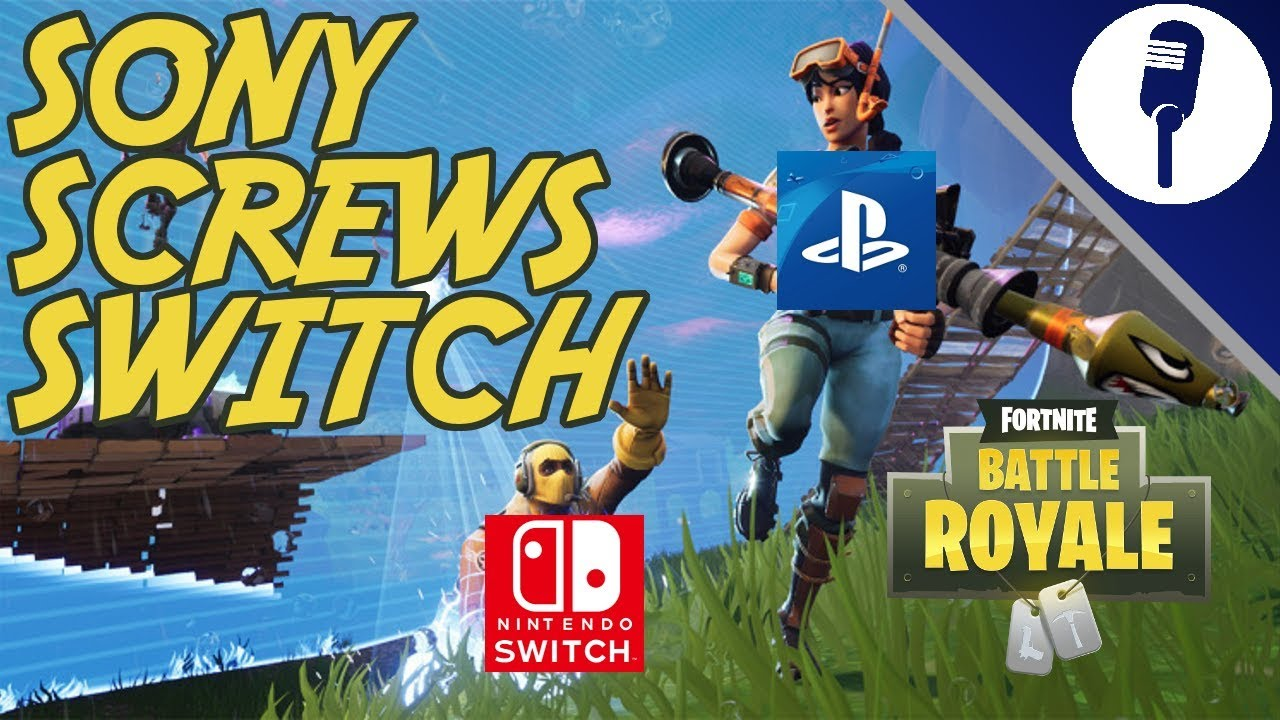 Sony Screws Switch: Epic Games Accounts From Playstation ...