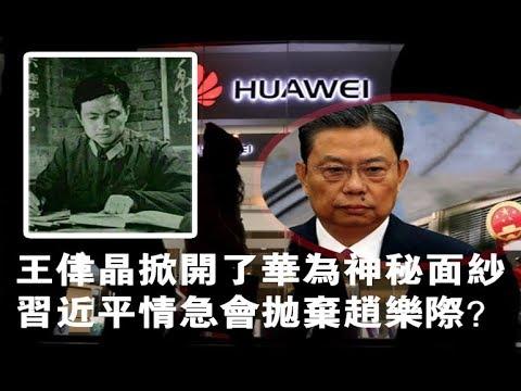 夏业良:王伟晶掀开华为面纱 习近平会抛弃赵乐际?