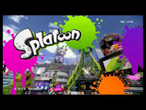 Image result for splatoon title screen