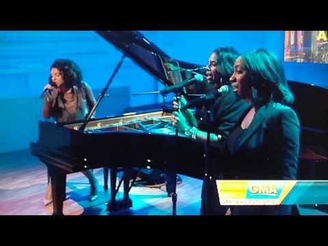 "Marsha Ambrosius singing ""Far Away"" Live on GMA 03/15/11"