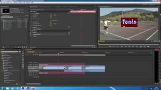 Tutorial Importar Composicion de After Effects CS6 a Premiere Pro - Dynamic Link (enlace dinámico)