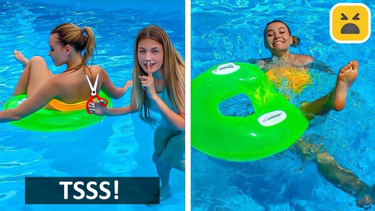 FUNNY SUMMER PRANKS! Best And Creative DIY Prank on Girls & Friends