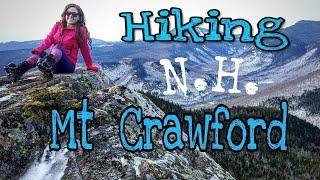 Hiking Mt Crawford NH