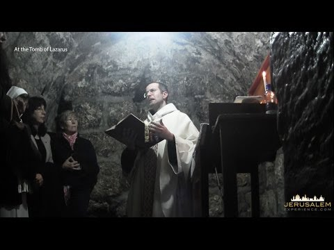 A Video Tour to the Resurrection of Lazarus Ceremony in Jerusalem