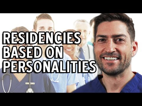 What Medical Residency Best Fits Your Personality?!