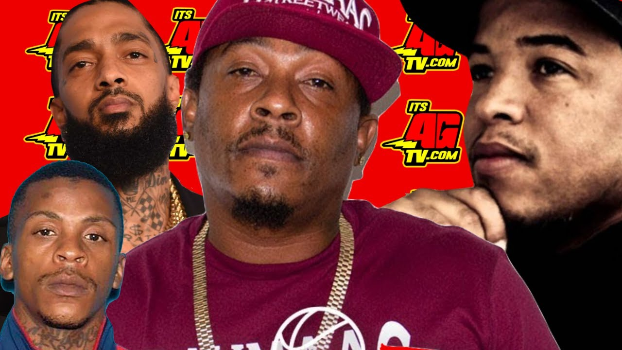 Spider Loc on Rumors That Eric Holder Was Signed to Nipsey & BG Knocc Out Wanting to Take Out Er