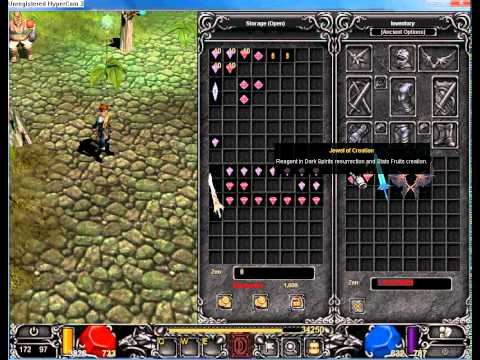 Mu Online How To Create Wings 1, 2 And 3 Lvl