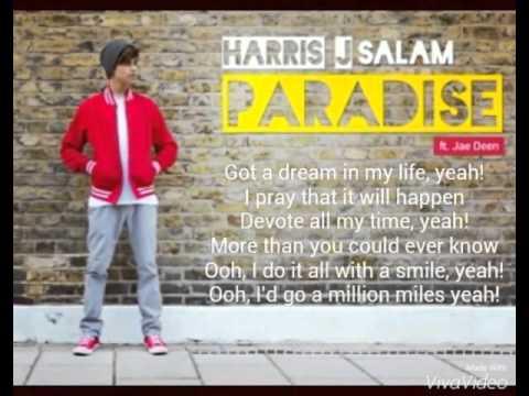 Harris J - Paradise - |Lyrics|