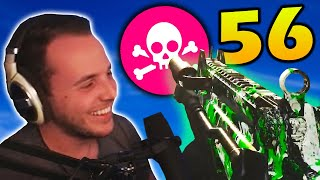 I GOT 56 KILLS FOR A NEW PR IN A $2500 WARZONE MATCH 😲 | Cold War Warzone