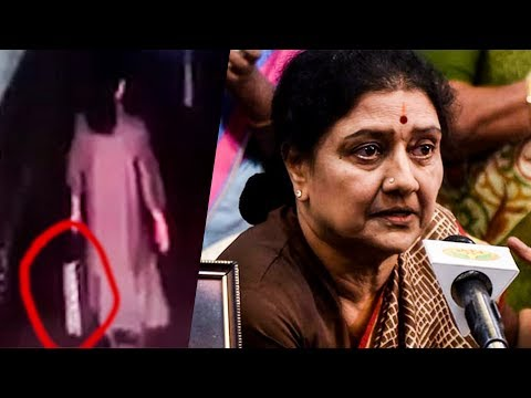 VK Sasikala Spotted with a Shopping Bag in JAIL, Bangalore | RK 28