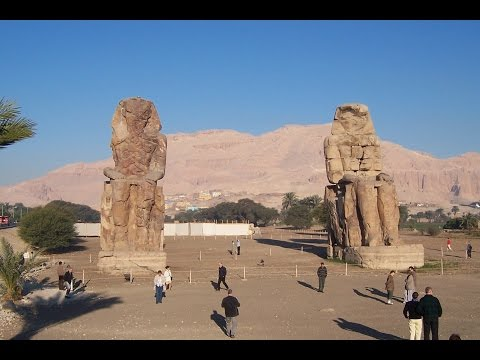 Massive Stone Sculptures In Egypt
