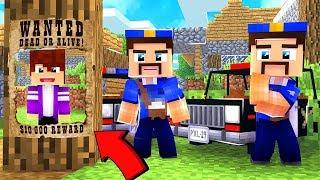 Моего друга разыскивает полиция Его арестовали копы в майнкрафт 100 ловушка троллинг Minecraft
