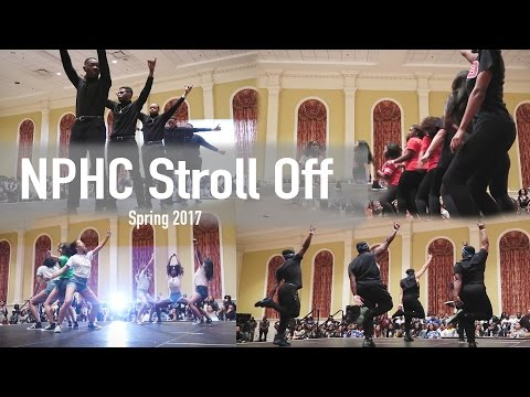 College Vlog: NPHC's Greek Stroll Off | UMD Night Life