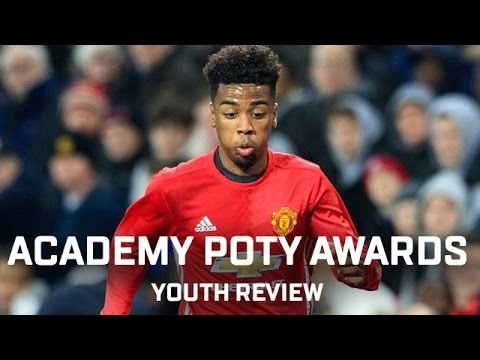 Axel Tuanzebe & Angel Gomes | Manchester United Academy Player Of The Year Awards 2017