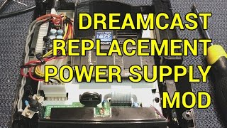 Sega Dreamcast DIY Replacement Power Supply PSU Jpn