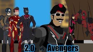 2.0 & 3.0 vs Avengers Funny spoof (Vadivelu version)- Kalai's creations