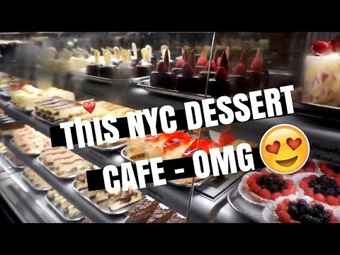 I'VE NEVER SEEN SO MANY DESSERTS BEFORE! NYC VLOG PART 3 | itsgloriapowell