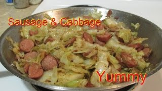 Cook With Me ( My Sausage & Cabbage Recipe)