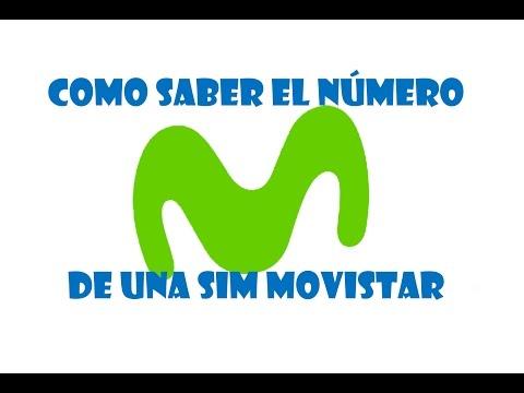 Como saber el número de una sim Movistar en segundos 2017/ Como saber el número de un celular 2017