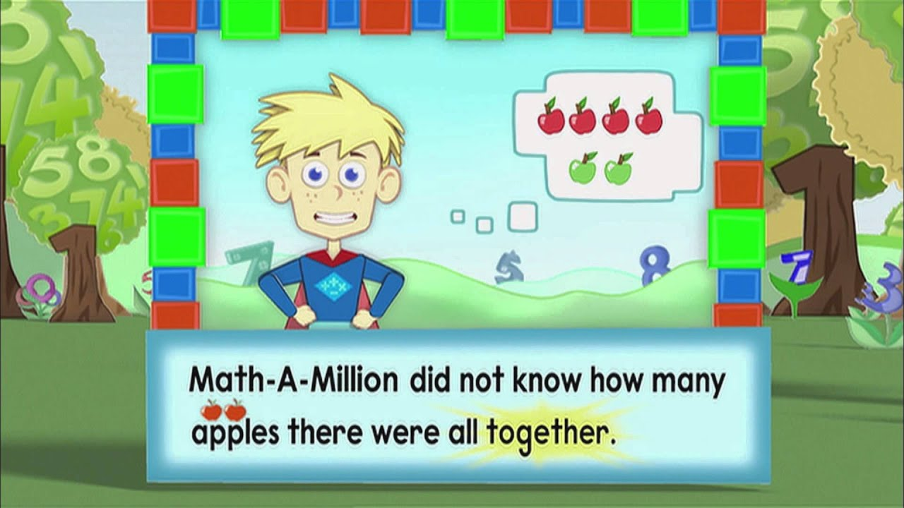 The Adventures of Math-A-Million - YouTube