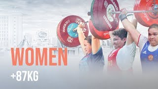 Ashgabat 2018 Highlights | Women +87kg