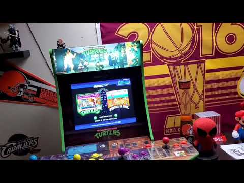 TMNT Official Arcade1up Light Up Marquee from ROME RUSH