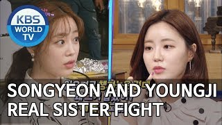 Songyeon and Youngji's real sister fight [Happy Together/2019.06.06]