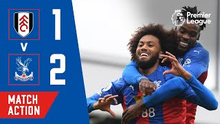 JAIRO'S FIRST PREMIER LEAGUE GOAL! Fulham 1-2 Crystal Palace   Match Action