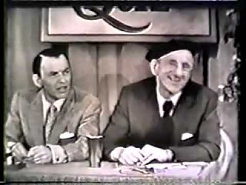 Colgate Comedy Hour with Jimmy Durante and Frank Sinatra (video)