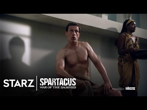 Spartacus: War of the Damned   The Romans   STARZ