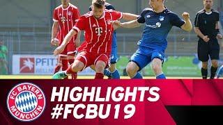 Highlights: U19 gewinnt Topspiel in Hoffenheim!!