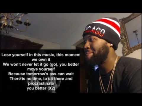 Eminem - Lose Yourself (Demo Original Version) - REACTION