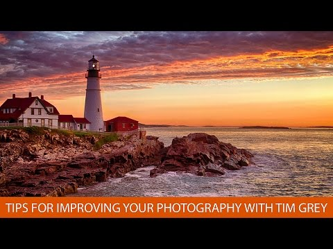 Tips for Improving Your Photography with Tim Grey