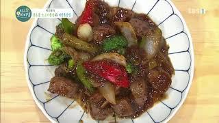 최고의 요리 비결 - 박건영의 검은콩 소고기볶음과 게살…