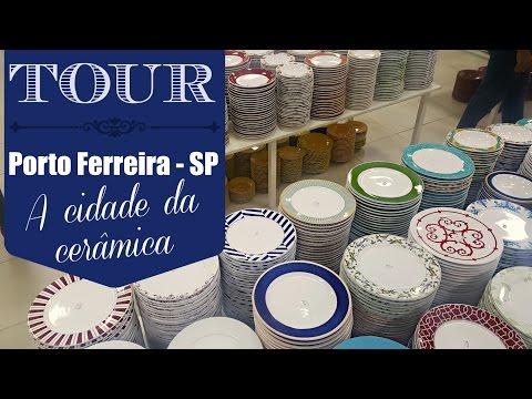 Tour em Porto Ferreira - SP a cidade da cerâmica!