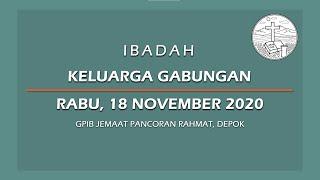 November 18, 2020 - IKG - Kunci Hidup Berkenan Pada Tuhan